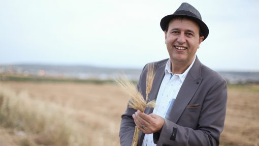 Nasser Abufarha, of Canaan Fair Trade, is adding new crops like the ancient grain, freekeh, [Courtesy: warscapes.com]